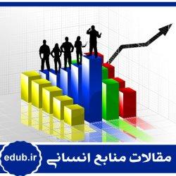 مقاله بررسی وضعیت بهرهوری در دو حوزه (منابع انسانی و مالی) در صنعت بانکداری با فنFAHP